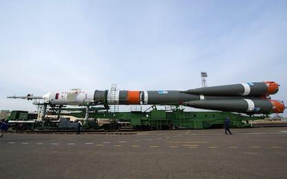 Kazakistan, i preparativi per la missione della Soyuz. FOTO