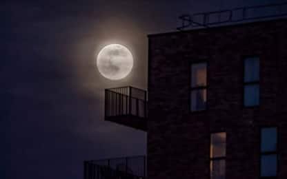 Lo spettacolo della Superluna, la più grande e brillante del 2020