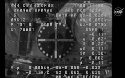 Nasa: cargo Progress attraccato alla Stazione spaziale internazionale