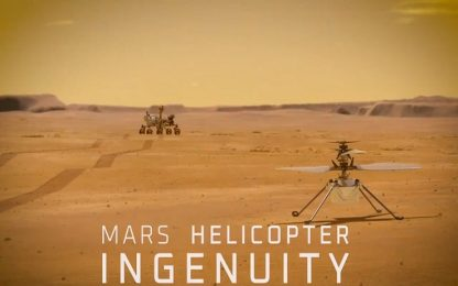 L'elicottero che volerà su Marte si chiama Ingenuity