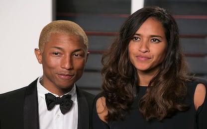 Helen Lasichanh e Pharrell Williams genitori di tre gemelli