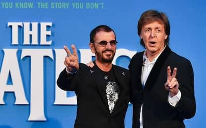 Ringo Starr e Paul McCartney di nuovo insieme in studio