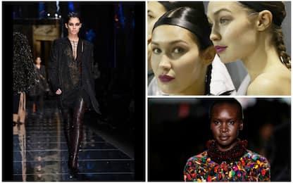 Parigi, sfilano le supermodelle