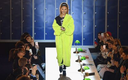 Paris Fashion Week, in scena Rihanna