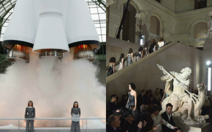 Ultima giornata della Paris Fashion week