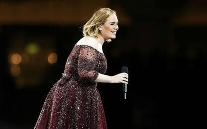 """Adele annuncia a sorpresa: """"Forse questo è il mio ultimo tour"""""""