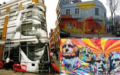 Le migliori città per la street art