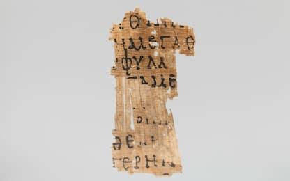 Papiri, i raggi X rivelano segni tracciati con inchiostro invisibile