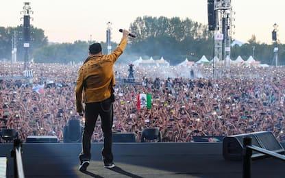 Concerto Vasco, 220mila fan al Modena Park per celebrare il 'Blasco'