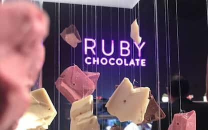 """""""Ruby chocolate"""", il nuovo cioccolato rosa presentato a Shanghai"""