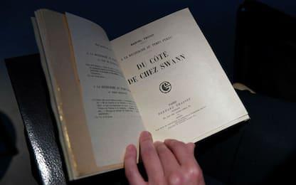 Parigi, venduto per 535mila euro un libro di Marcel Proust