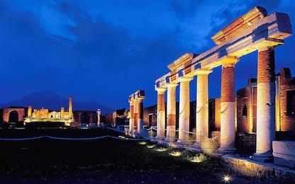 Maltempo in Campania, lievi danni al sito archeologico di Pompei
