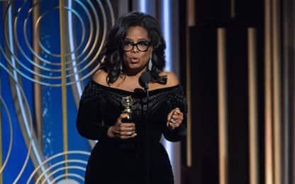 Golden Globe, Oprah Winfrey: per le donne è l'alba di un nuovo giorno