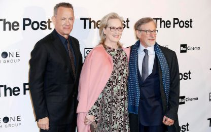 La prima di 'The Post' a Milano. FOTO