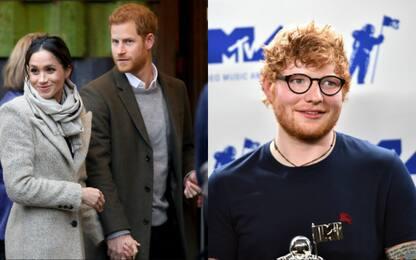 Ed Sheeran potrebbe suonare al matrimonio di Harry e Meghan