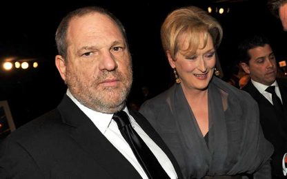 "Molestie, Weinstein cita Meryl Streep a sua difesa. Lei: ""Patetico"""