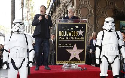 Mark Hamill accede alla Walk of Fame