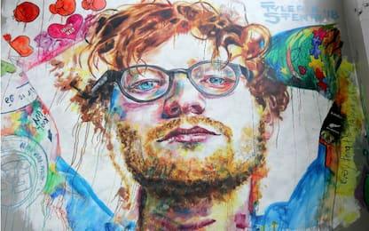 Il murale di Ed Sheeran