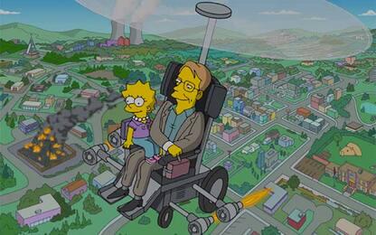 Stephen Hawking, omaggio dei Simpson all'astrofisico