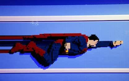 A Parigi i supereroi diventano Lego