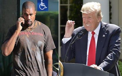 Kanye West-Trump, scambio di complimenti su Twitter. Polemica dei fan