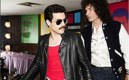 "Le prime immagini di ""Bohemian Rhapsody"", biopic sui Queen"