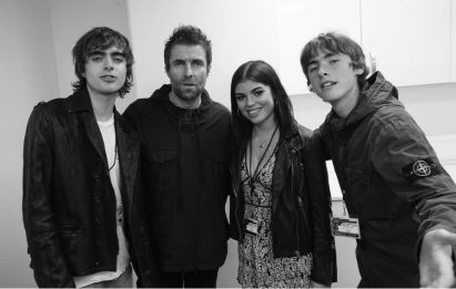 Liam Gallagher incontra per la prima volta la figlia Molly