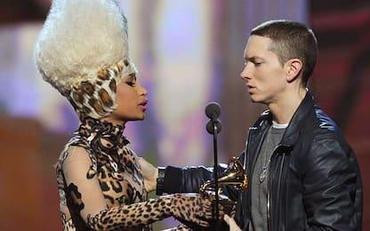 Eminem e Nicki Minaj: il flirt tra palco e social network