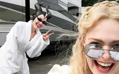 Angelina Jolie torna sul set per Maleficent 2