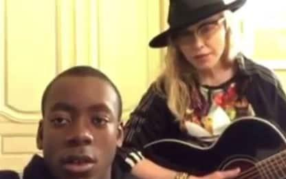 Madonna, una cover di Elvis Presley insieme a suo figlio