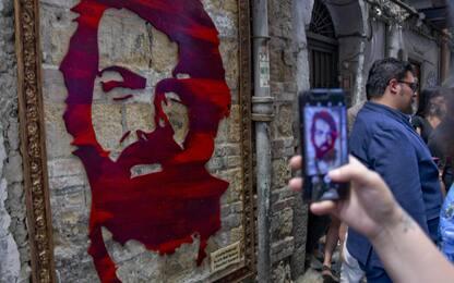 Quadro per Bud Spencer a Napoli
