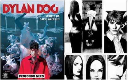 """Dylan Dog: il 28 luglio esce """"Profondo nero"""", scritto da Dario Argento"""
