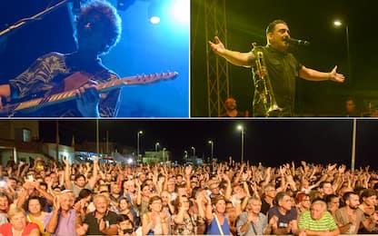 Rockarossa Festival Petrosino. FOTO