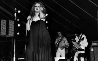 Mina, 40 anni fa l'ultimo concerto prima di lasciare le scene
