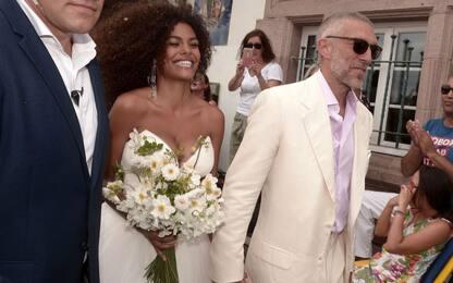 Vincent Cassel, nozze con Tina Kunakey