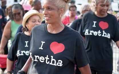 Camera ardente di Aretha Franklin