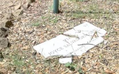Roma, distrutta la targa in onore di Joyce Lussu a Villa Torlonia
