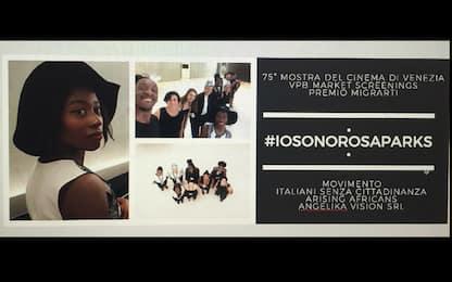 """""""Io sono Rosa Parks"""", a Venezia 75 gli #ItalianiSenzaCittadinanza"""