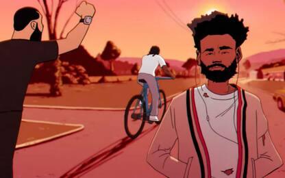 """Feels Like Summer"", il video cartoon di Childish Gambino"