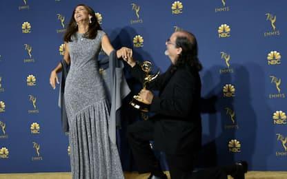 Proposta di matrimonio agli Emmy 2018