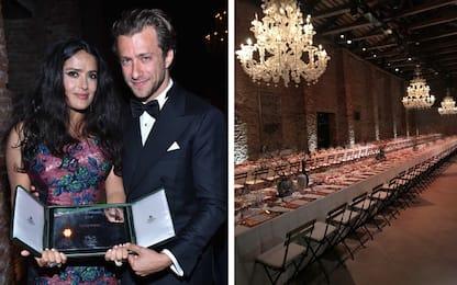 Salma Hayek vince il Franca Sozzani Award: party, glamour e curiosità