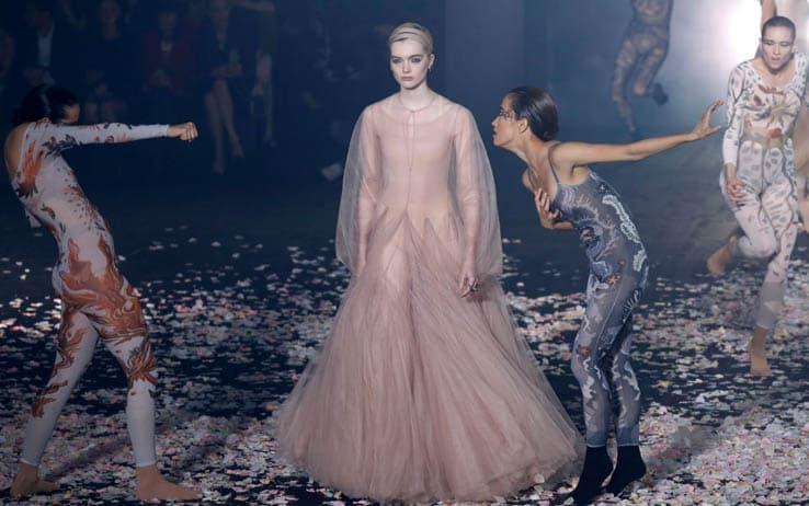 La sfilata di Dior a Parigi - Getty Images