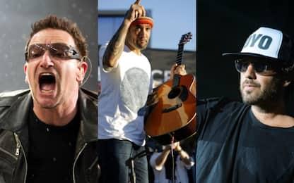 U2, Ben Harper, Thegiornalisti: tutti i concerti di ottobre 2018