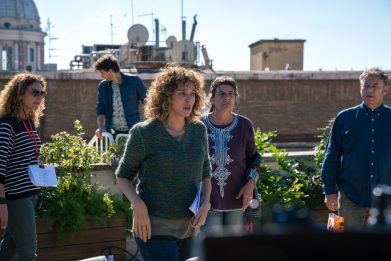 Valeria Golino, la regista del quotidiano