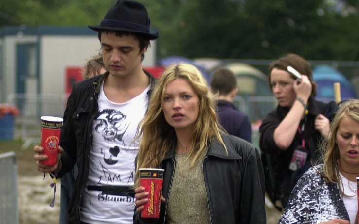 Kate Moss con Pete Doherty nel 2005 - Getty Images
