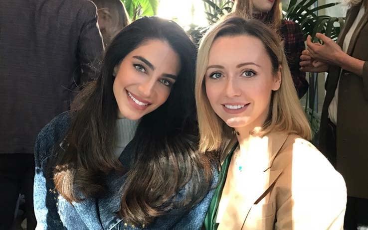 Jessica Kahawaty e Nataly Osmann