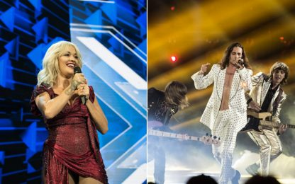 X Factor 2018, Måneskin e Rita Ora: spacchi e trasgressione ai live