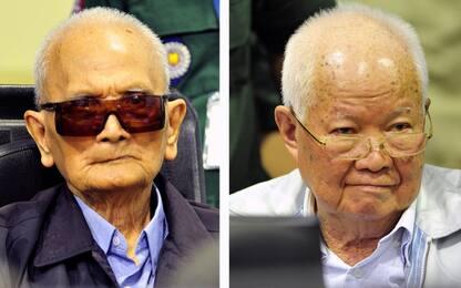 Cambogia, ergastolo per genocidio a ultimi due leader khmer rossi