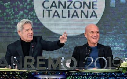"""Sanremo, Baglioni: """"Non sarà politico"""". Bisio: """"Sarò me stesso"""""""