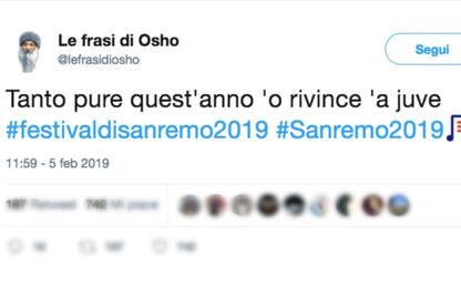Sanremo 2019, ironia social: la prima serata su Twitter